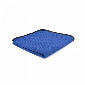 The Rag Company Dry Me A River Waffle Weave Towel Blauw